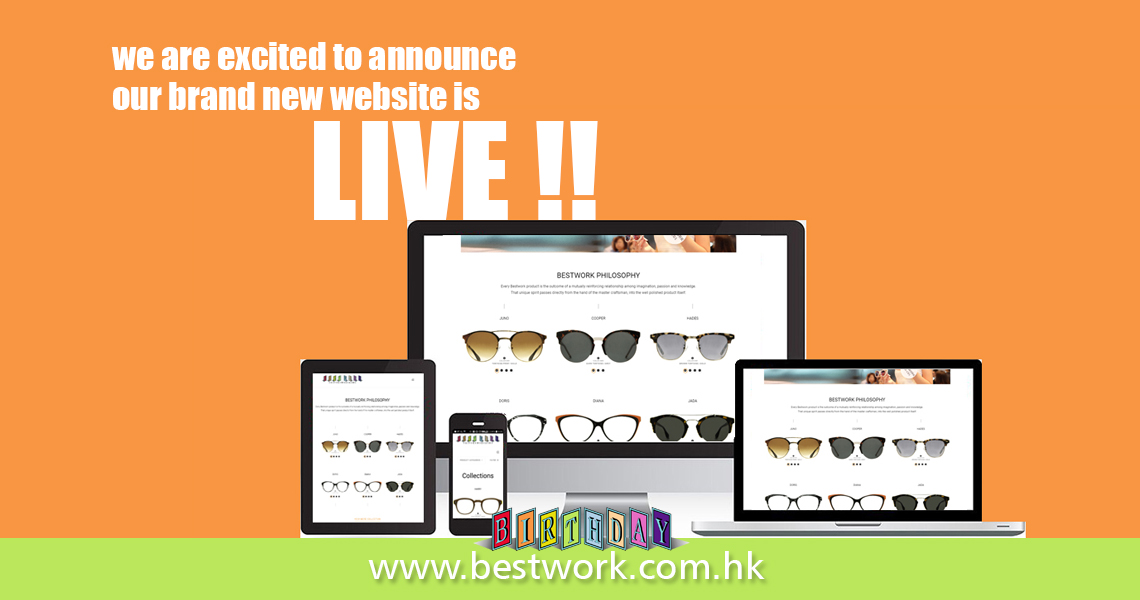 Our Brand New Website is Finally LIVE!!